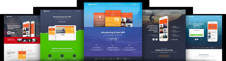 AppLead app landing page